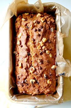 Vegan Pumpkin Bread.
