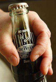 Dublin Dr. Pepper.  Made only in Dublin, Texas!