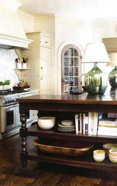 vignette lamps, pantri, pantry doors, wood, cabinet, shelv, hood, kitchen islands, white kitchens