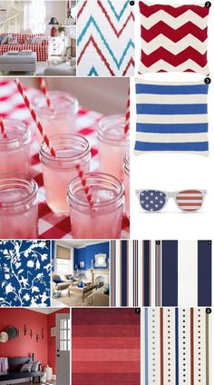 Mood Board Monday: Red, White & Blue for Memorial Day