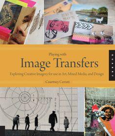 image transfers, books, art idea, art class, read, mach art, courtney cerruti, creativ inspir, art cours