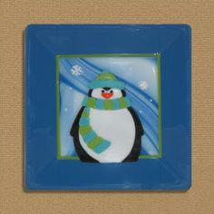 Penguin 2 by LassenGlassWorks on Etsy, $50.00