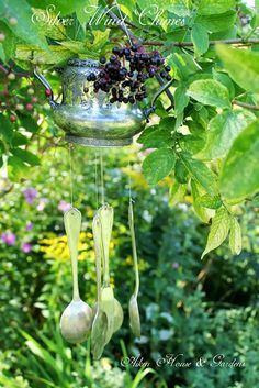 Aiken House & Gardens: Make your own Silver Wind Chimes
