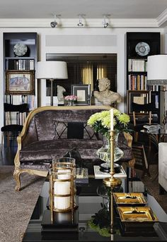 ECLECchic living room.