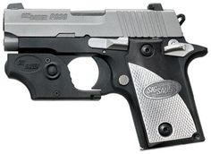 SIG P238 Tactical Laser, 380, W/Custom Aluminum Grips p238 380, firearm, laser sight, tactic laser, 238380tl p238, sig sauer, sauer 238380tl, 380 acp, gun