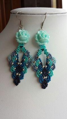Macramè earrings