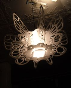 Butterfly lamp shade by LightA on Etsy, $32.00