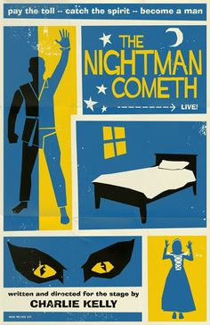 It's Always Sunny in Philadelphia - The Nightman Cometh Poster... this is seriously almost too good to be true!