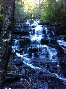 Minnehaha, near Mountain City in Rabun County is one of my return-to favorites I try to visit at least once a season.