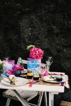 Vibrant Watercolor Wedding Inspiration
