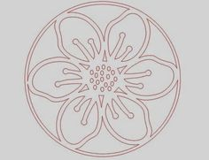 Silhouette School: Dingbat Font Flower Garden Flag (Free Studio Cut File)