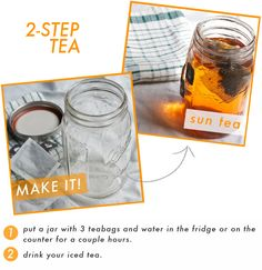 Easiest way to make iced tea!