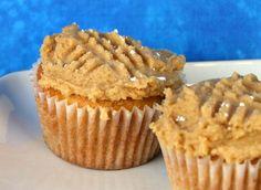 Peanut Butter Cookie Cupcakes | Recipe Girl