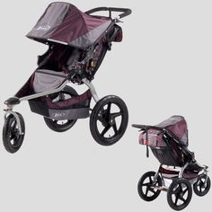 ABSOLUTELY the BEST stroller (jogging, or universal) out there. I still use mine! Well worth the cost ;)  BOB stroller is key for moms who want to keep on running.