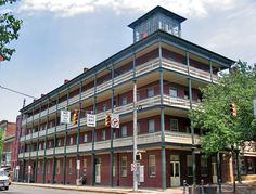 Former National Hotel - Union headquarters for the 20th Pennsylvania Volunteer Militia during the Gettysburg Campaign