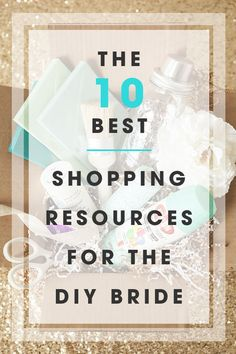 On a budget? Get your DIY wedding supplies for a STEAL from these 10 amazing resources! Great tips from @jencarreiro   http://www.weddingpartyapp.com/blog/2014/09/25/10-best-shopping-resources-diy-wedding-supplies/