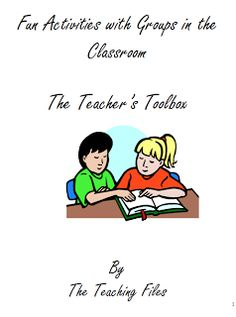 "FREE LESSON - ""Fun Activities With Groups in the Classroom""- Go to The Best of Teacher Entrepreneurs for this and hundreds of free lessons.  Pre-Kindergarten - 12th Grade   #FreeLesson  #TeachersPayTeachers   #TPT  http://www.thebestofteacherentrepreneurs.net/2013/10/free-misc-lesson-fun-activities-with.html"