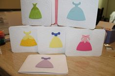 Disney Princess cards!