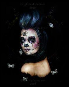 Dia de Los Muertos by NightshadeStudios #illustration