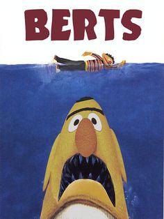 muppet movie parodies | Epic Jaws Parody posters (plus 2)