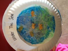 Our daycare project! Aquarium! Too cute