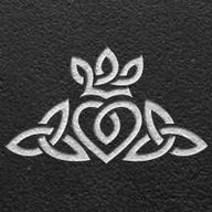 Celtic heart, crown & Trinity knot - would prefer it without the crown.