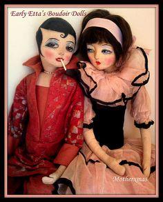 early Etta boudoir dolls
