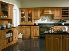 Verona Natural Rosewood Kitchens