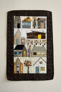 Houses Quilt - for my future design office