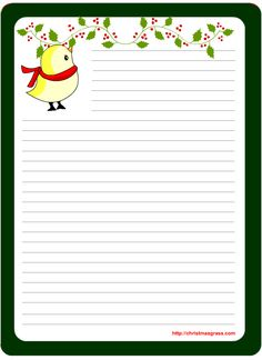 Printable Stationary on Pinterest | Writing Papers, Stationery and ...