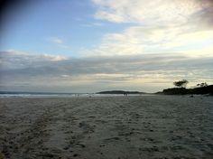The beach of #ByronBay, #Australia