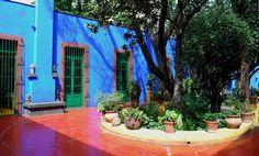 The Intercontinental Gardener: Burning blue - Frida Kahlo's La Casa Azul in Coyoacan