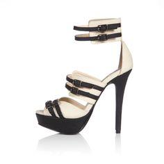 Sandales multi-brides Brontee-Black / Stylistpick  VIA: Amadine