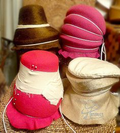 Hatstruck Couture Millinery: How to Tie a Hat Blocking Cord; A Picture is Worth A Thousand Words; Felt Blocking Class