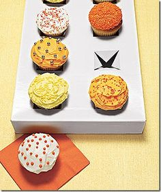 Clever cupcake carrier