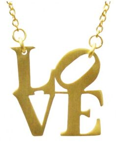Robert Indiana Love Necklace