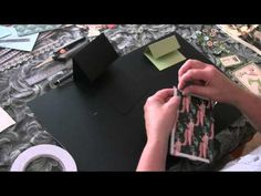 latest youtube video - double easel card