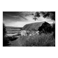"River & Barn :- A wonderful, rural, scenic image down by the River Ouse in the village of Piddinghoe, Sussex, England. The image had a very dated feel about it once I'd processed it and I found it reminded me of some of the more ""laid back"" black and white movies of the 40's and 50's. #barn #rural #river #landscape #filmnoir #sussex #england #countryside #village #shade #shadow #sunlight river landscap, barn, river ous"