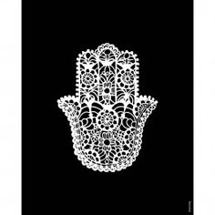 Talk to the hand with the Hamsa Print. This black and white #hamsa print will bring some positive vibes into your room. The colors will match any color scheme while making your room stand out. #dormify http://www.dormify.com/new/hamsa-print