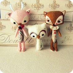 Cute stuff animals