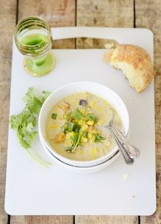 Winter Mexican Corn Soup | verses from my kitchen