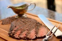 Disney Cruise Line Summer Recipe: Orange Cilantro Marinated Flank Steak