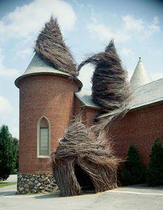 patrick dougherty sculpture