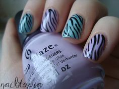 Pastel Zebra Print!
