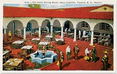 typical casino--patio/spa, indoors would be a deco-style ballroom, lavish rooms