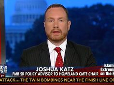 "Joshua Katz, an Army veteran and former CIA operations officer who served as Senior Policy Advisor to the Chairman of the House Homeland Security Committee said it is ""very, very, true"" that ISIS may have crossed the southern border."