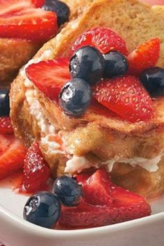 Make the night before and serve your guests this luscious French toast for breakfast!
