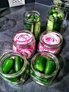 Learning How To Pickle Vegetables