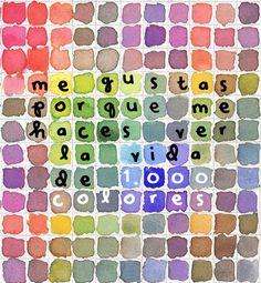 acuarelas de amor color mix, color palettes, art lessons, watercolor paintings, multiplication, paint palettes, colors, color charts, paints