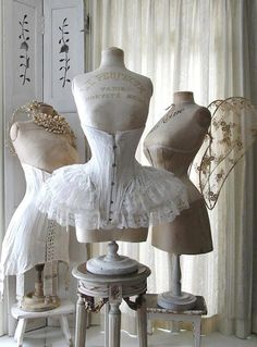 fab vintage dress forms